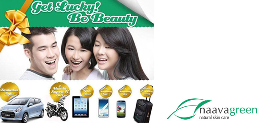 Get Lucky Be Beauty